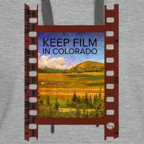 Keep Film in Colorado Filmstrip - Women's Premium Hoodie