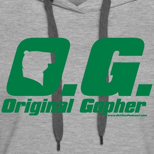 Original Gopher - Women's Premium Hoodie