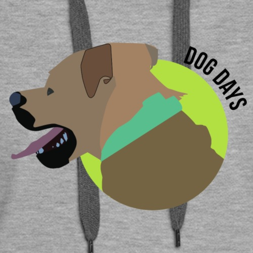 Dog Days of Summer - Women's Premium Hoodie