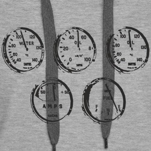 Classic speedometer - Women's Premium Hoodie
