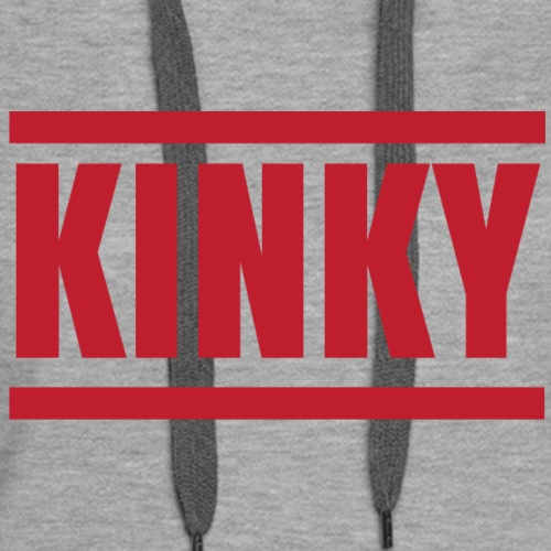 Kinky in Red - Women's Premium Hoodie