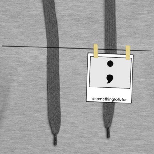 Photo Semicolon - Women's Premium Hoodie