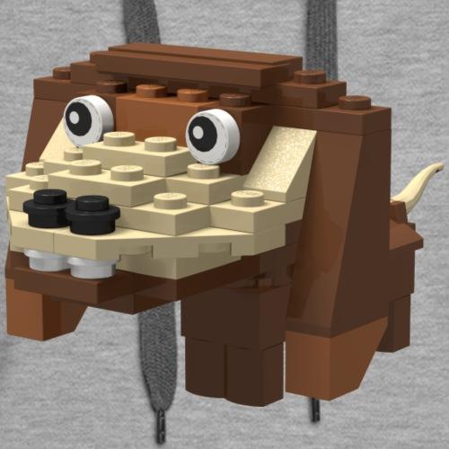 Brick Puppy - Women's Premium Hoodie