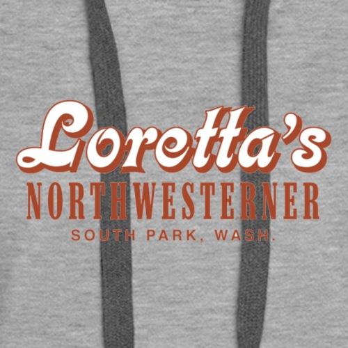 Lorettas Logo - Women's Premium Hoodie