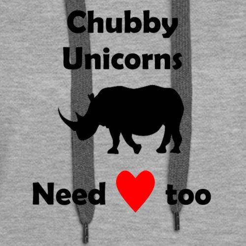 chubby unicorns - Women's Premium Hoodie