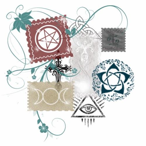 Wicca Stamp