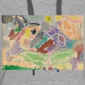 Butterflies watercolor - Women's Premium Hoodie