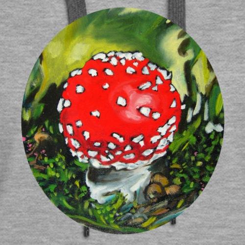 amanita muscaria / mushroom / nature / fly agaric - Women's Premium Hoodie