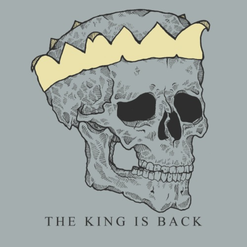 The King is Back Color - Women's Premium Hoodie