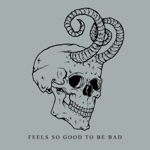 Devil Skull Feels So Good - Women's Premium Hoodie