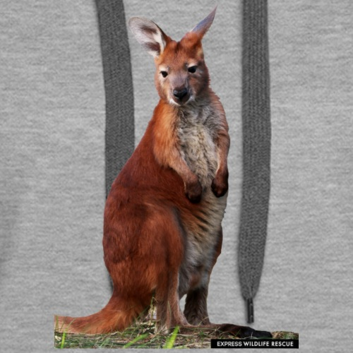 Stuart Little Kangaroo - Women's Premium Hoodie