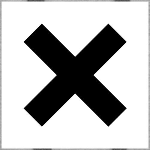 X out box logo tee - Women's Premium Hoodie