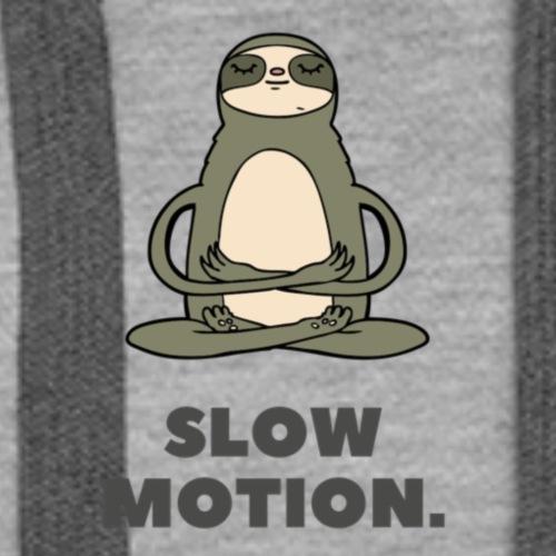 Slow Motion - Women's Premium Hoodie