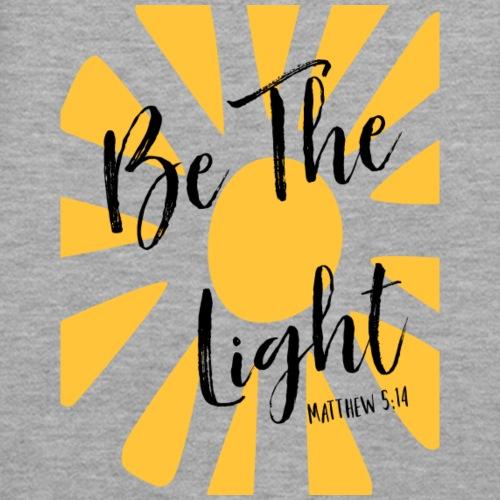 Be The Light (dark lettering) - Women's Premium Hoodie