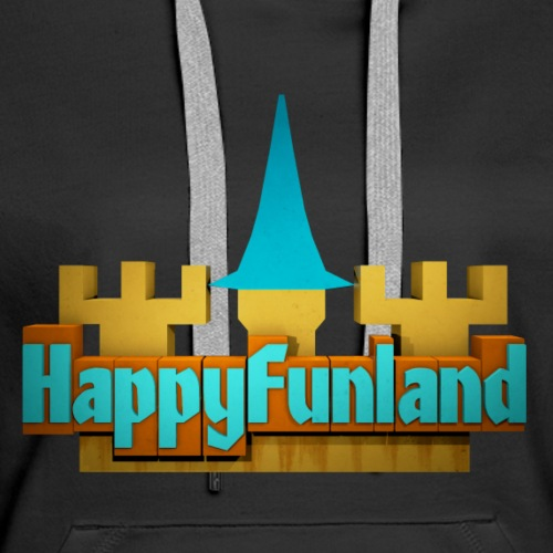 HappyFunland Logo - Women's Premium Hoodie