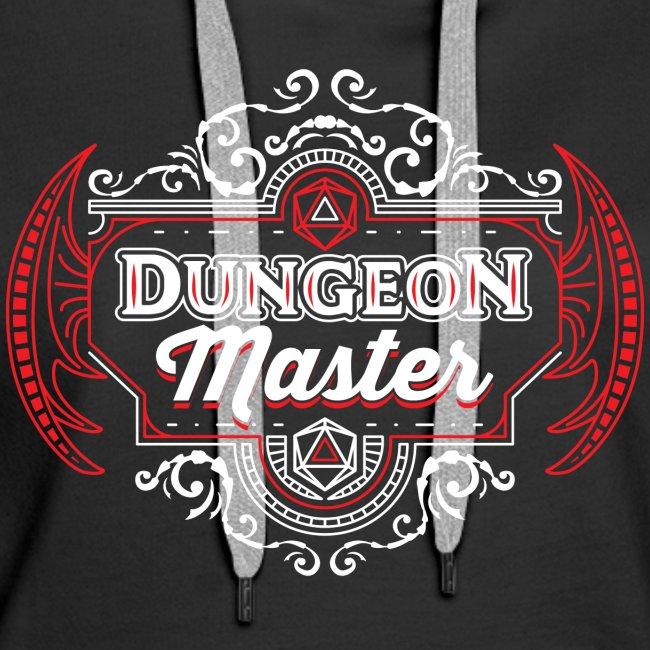dungeon master filigree fantasy gift d20 shirt