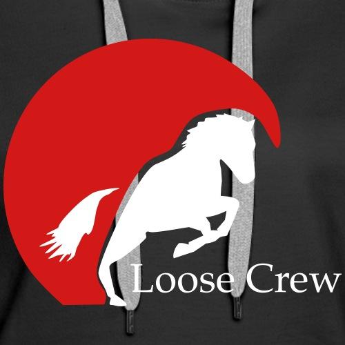 Loose Crew 2 - Women's Premium Hoodie