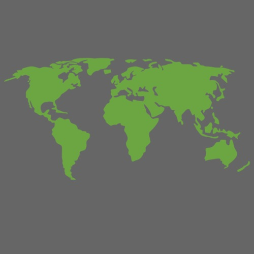 Planet Earth Green - Women's Premium Hoodie