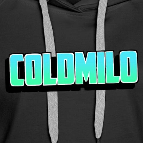 ColdMilo's Dark Mode Merch - Women's Premium Hoodie