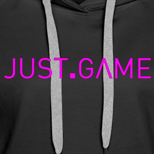 Just.Game - Women's Premium Hoodie
