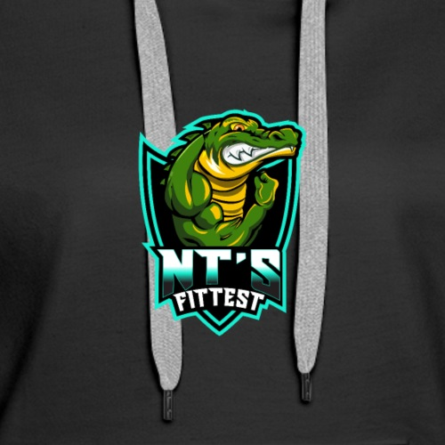 NT's Fittest by CrossFit Abode - Women's Premium Hoodie