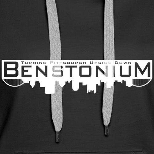 Benstonium Official (White) - Women's Premium Hoodie