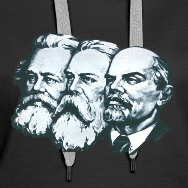 Marx, Engels and Lenin