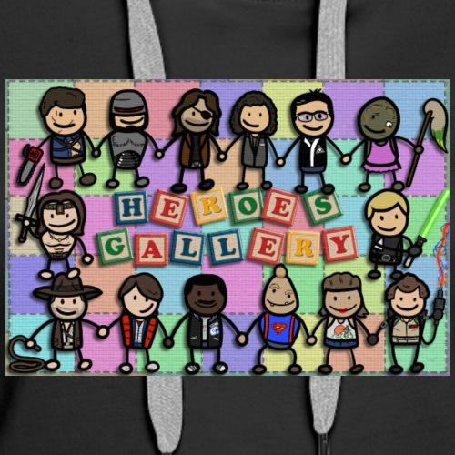 Heroes Gallery - Women's Premium Hoodie