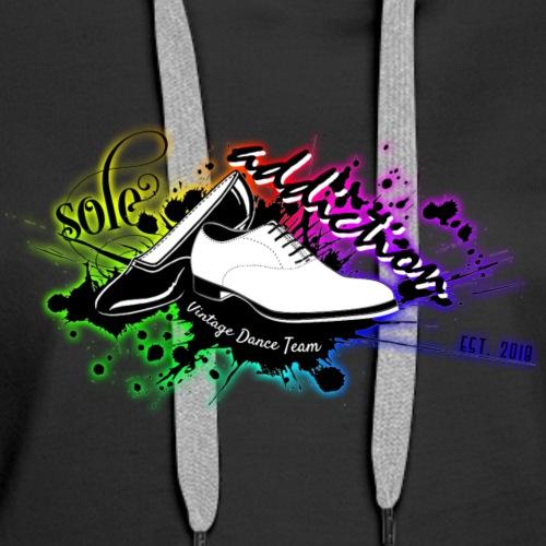 Sole Addiction MultiColour / Rainbow Logo - Women's Premium Hoodie