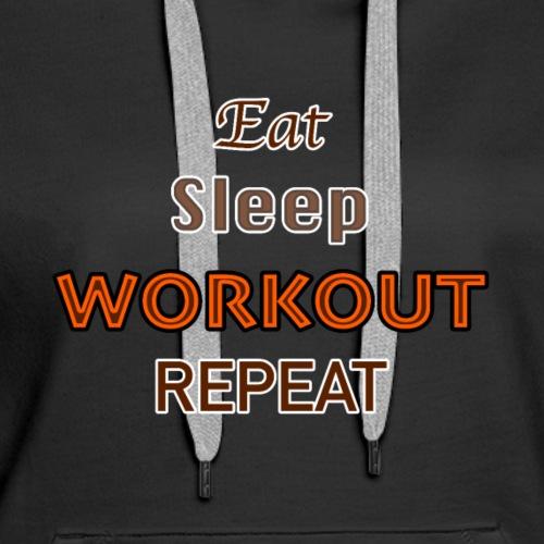 Workout - Women's Premium Hoodie