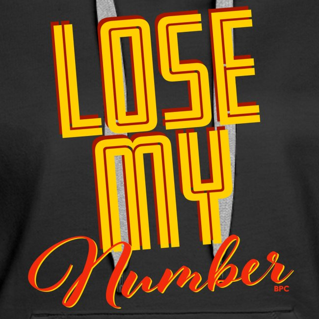 Lose My Number