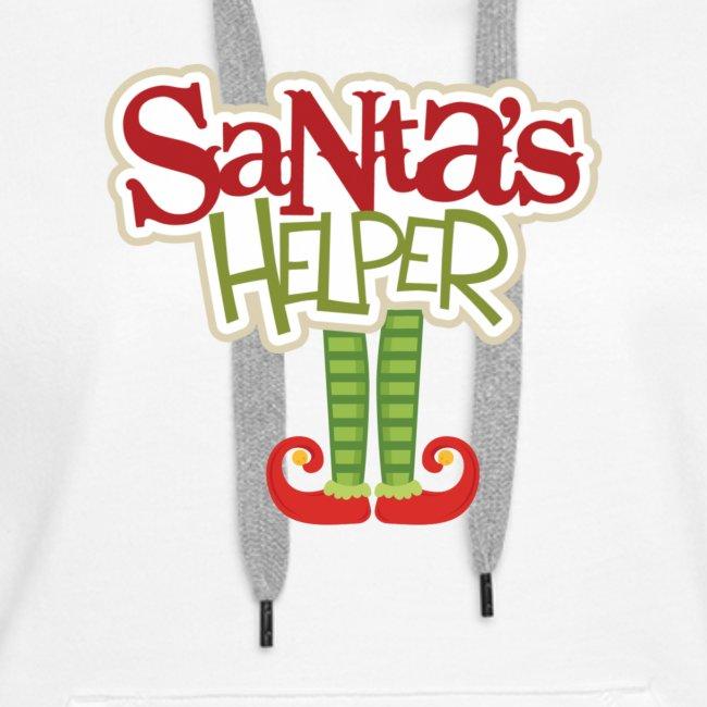 ELF FEET Santa's Helper Christmas tee