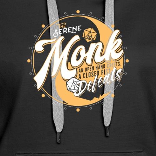 Monk Class Fantasy RPG Gaming - Women's Premium Hoodie