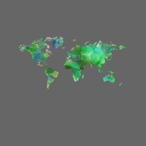 Green World - Women's Premium Hoodie