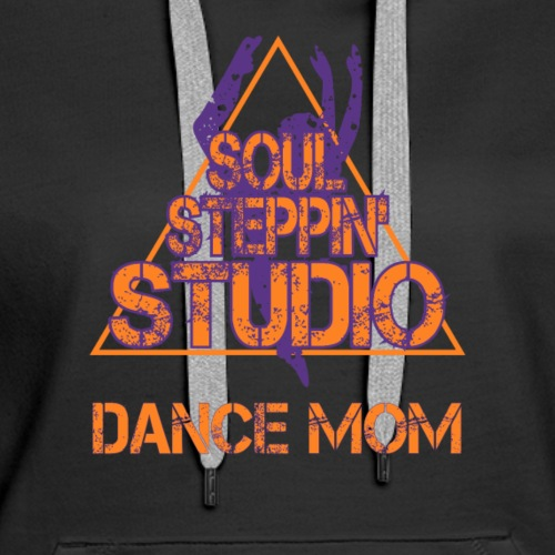 Soul Steppin Mom - Women's Premium Hoodie