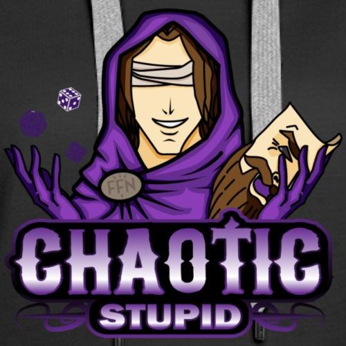 Chaotic Stupid Logo Shirt - Women's Premium Hoodie