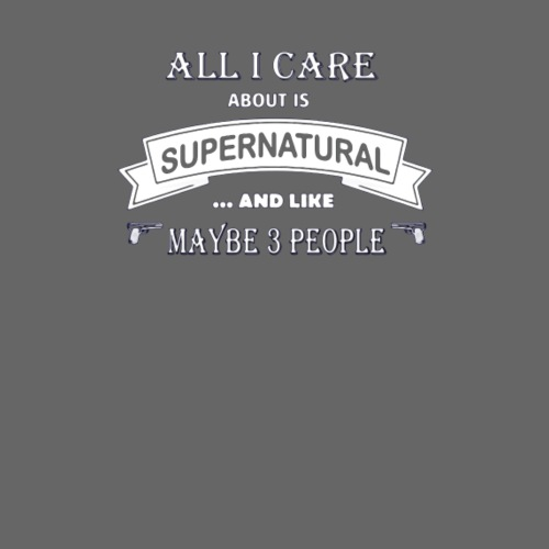 All i care about is supernatural - Women's Premium Hoodie