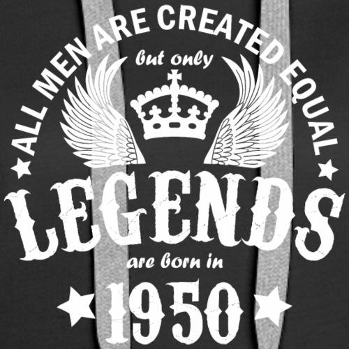 Legends are Born in 1950 - Women's Premium Hoodie
