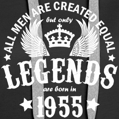 Legends are Born in 1955 - Women's Premium Hoodie
