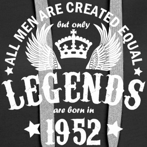 Legends are Born in 1952 - Women's Premium Hoodie