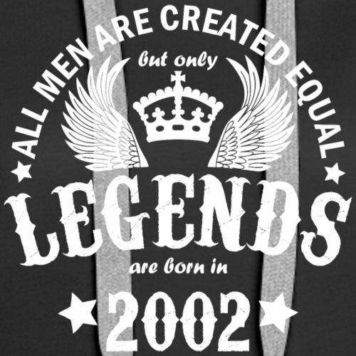 Legends are Born in 2002 - Women's Premium Hoodie