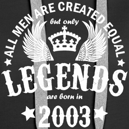 Legends are Born in 2003 - Women's Premium Hoodie