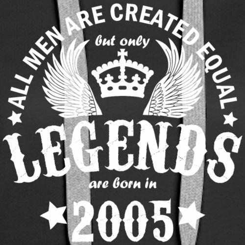 Legends are Born in 2005 - Women's Premium Hoodie