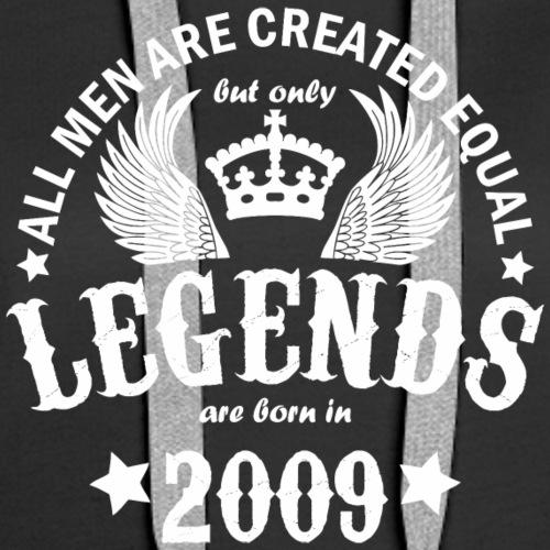 Legends are Born in 2009 - Women's Premium Hoodie