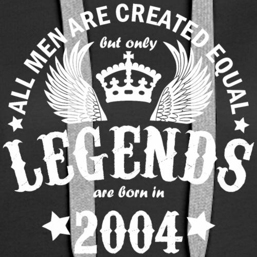 Legends are Born in 2004 - Women's Premium Hoodie