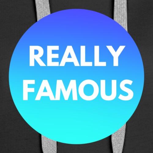 Really Famous Logo - Women's Premium Hoodie