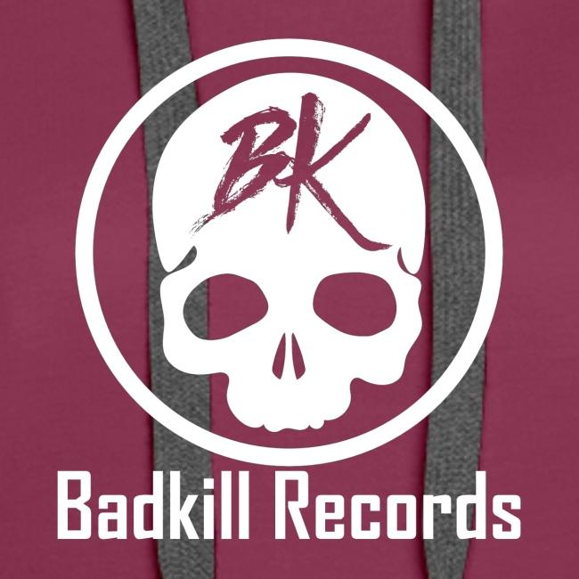 Badkill Logo White