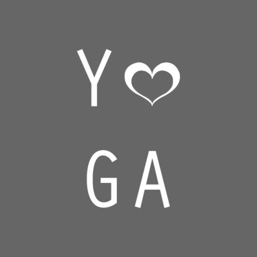 Yoga Heart Design - Women's Premium Hoodie