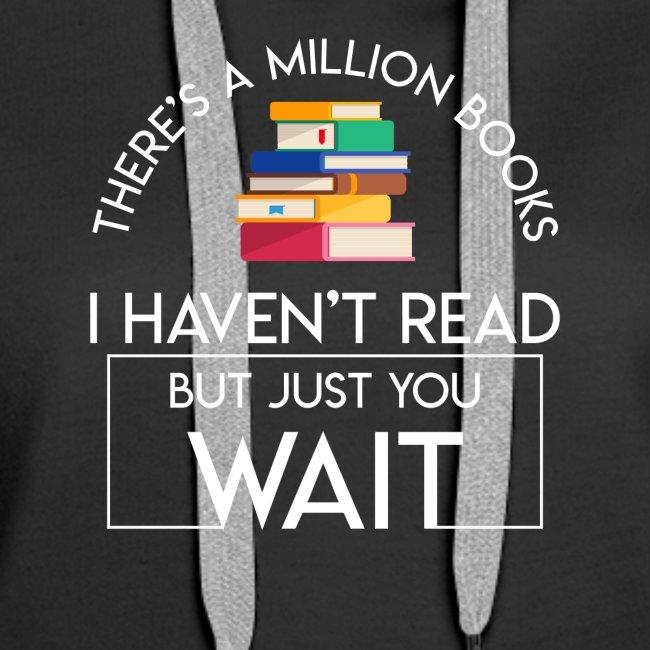 Reading Book Million Books Havent Read