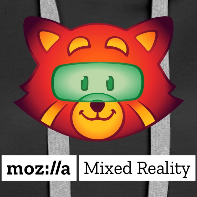 Foxr Head (white MR logo)